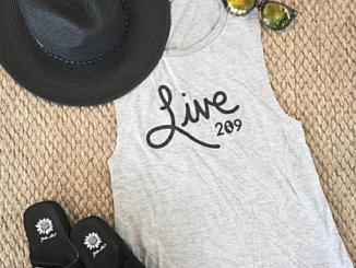 Live 209 shirt, live 209